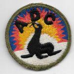 WWII Alaska Defense Command Patch