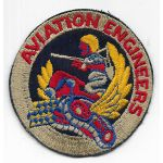 WWII AAF Aviation Engineers 1st Type Patch