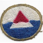 WWII Iceland Base Command Thetare Made Patch
