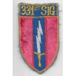 Vn Made 331st Signal Pocket Patch