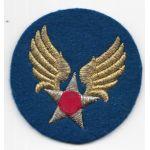 WWII AAF Headquarters Tinsel Bullion Patch