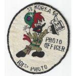 Korean War 101st Photo Signal Photo Officer Woody Woodpecker Patch