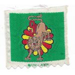 ARVN / South Vietnamese Army 90th Headquarters Company 9th Airborne Battalion Patch