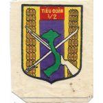 ARVN / South Vietnamese Army 1st Battalion 2nd Infantry Regiment Patch
