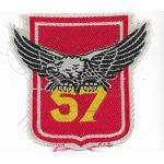 ARVN / South Vietnamese Army 57th Infantry Regiment Patch