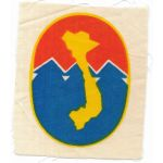ARVN / South Vietnamese Army Information Agency Patch