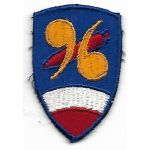 WWII 96th Chemical Mortar Battalion Patch