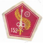 ARVN / South Vietnamese Army 152nd Quartermaster Directorate Patch