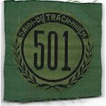 ARVN / South Vietnamese Army Nationalists Field Police District 501 Patch