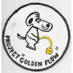 Vietnam Snoopy Project Golden Flow Patch