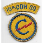 WWII - Occupation Period 15th Constabulary Squadron Theatre Made Patch Set