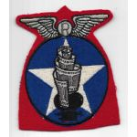 WWII AAF 2nd Combat Camera Wing CBI Squadron Patch