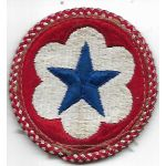 WWII Army Service Forces Engineer Troops Patch