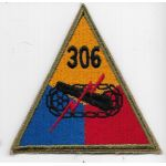 WWII 306th Tank Battalion Patch