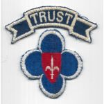 WWII - Occupation Period Trieste Occupation Forces Patch Set
