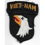 Vietnam 101st Airborne Division Viet-Nam Patch