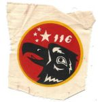 VNAF / South Vietnamese Air Force 116th Observation Squadron Patch