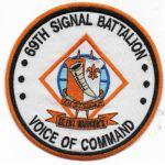 Operation Iraqi Freedom 69th Signal Battalion Theatre Made Patch