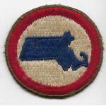 WWII  Massachusetts State Guard Patch