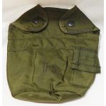 Dead Stock / New Old Stock Green Nylon Canteen Cover