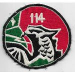 VNAF / South Vietnamese Air Force 114th Observation Squadron Patch