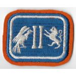 WWII Or Before 2nd Corps Signal Troops Patch