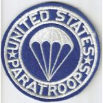 WWII Paratroops Airborne Pocket Patch
