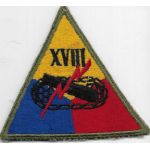 18th / XVIII Armored Corps Patch