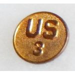 1920's 3rd US Enlisted Collar Disc