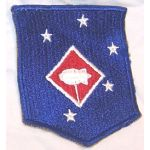 ASMIC WWII US Marine Corps 1st M.A.C. Barrage Balloon Battalion Patch