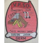 Crew-11 VP-50 Squadron Patch