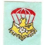 Airborne Support Battalion Supply Company Patch SVN ARVN