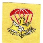 Airborne Support Battalion Maintenance Company Patch SVN ARVN