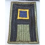 ASMIC WWII Pre-WWII 1st Army Chemical Troops Patch