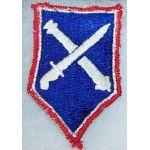 75th Regimental Combat Team Theatre Made Patch