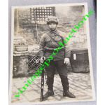 WWII Japanese China Incident Cavalry Soldier Photo