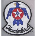 Thunderbirds F-100 Squadron Patch