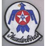 Thunderbirds F-100 Squadron Patch
