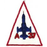 A-37 VNAF Squadron Patch SVN ARVN