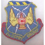 2nd Communications Group Theatre Made Squadron Patch