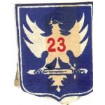 23rd Division Patch SVN ARVN