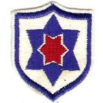 1950's South Korean Army 12th Division Patch