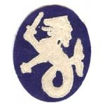 1920's-1930's Philippine Department Patch