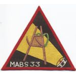 MABS 33 Japanese Silk Squadron Patch