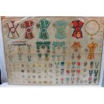Incredible Early WWII Japanese Army Military Medals & Badges Poster