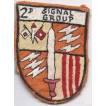 2nd Signal Group Pocket Patch Vietnam