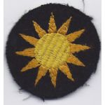 40th Division Cap Patch