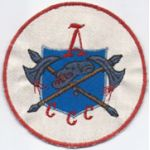 Vietnam A Company CCC Exploitation Force Pocket Patch