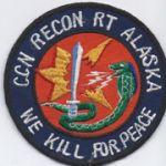 Recon Team Alaska Pocket Patch Vietnam