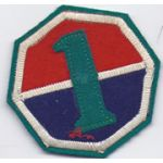 1st Army Patch Multi-Piece Construction